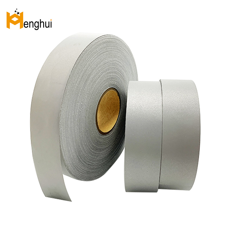 HT503 silver high visible T/C reflective fabric 500cd/(lx·m²)